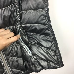 Athleta Jackets & Coats - Athleta Metallic Puffer Vest